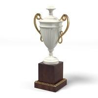 3d model pozzoli classic pedestal