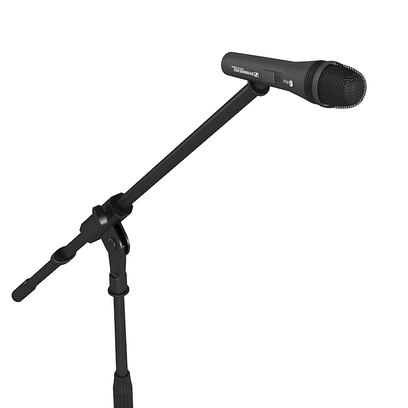 Sennheiser e8155 microphone holder boom stand tripod base concert stage equipment sing mic recording 2.jpg