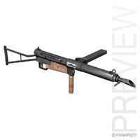 maya sten mk submachine gun