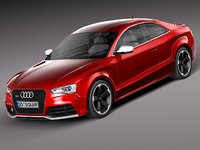 3ds max audi s5 rs5 2012