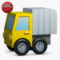 3d model construction icons 22 truck