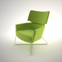 3d conforto chair office model