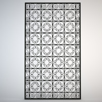 Ornamental Arab Grate