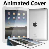 apple ipad new 3d model