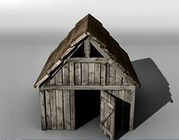 Medieval stable