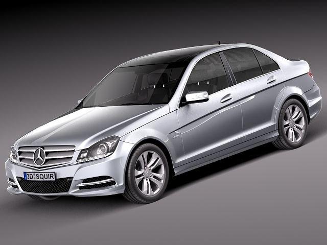 Mercedes benz mercedes benz sedan 3d model for Mercedes benz sedan models