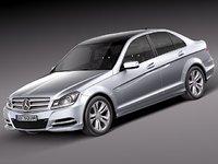 mercedes-benz mercedes benz sedan 3d model