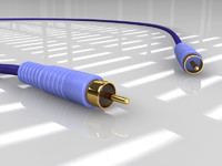 3d video cable model