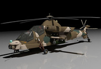rooivalk helicopter attack 3d model