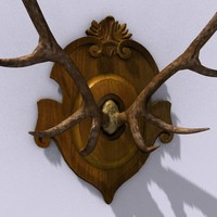 antler hunter 3d model