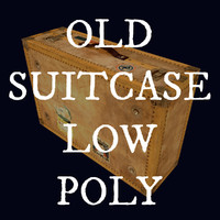 Old Suitcase, Low Poly