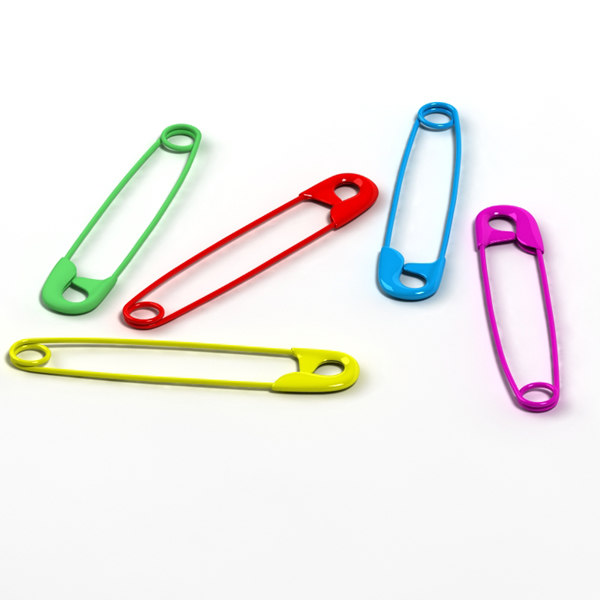 3ds max safetypin safety pin - safetypin... by BARAKA
