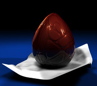 free easter egg 3d model