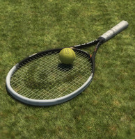 3ds max head tennis racket