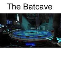 3d bat cave model