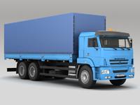 truck automobile 3d model