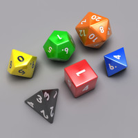 Tabletop Dice Set