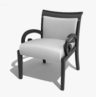 3d porada doris chair model