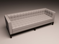 3d eichholtz sofa corbusier model