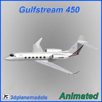Gulfstream G450 NetJets Aviation