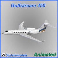 Gulfstream G450 Private livery 1