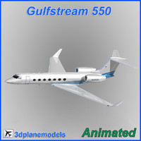 Gulfstream G550 Private livery 1