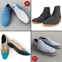 men shoes v5 3d model