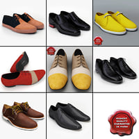 men shoes v9 3d 3ds