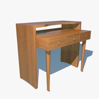 3dsmax porada scrivano table