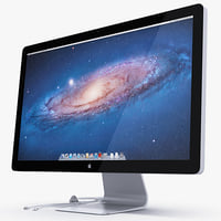 apple thunderbolt 27 inch 3d fbx