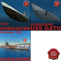 WW2 Submarines Collection