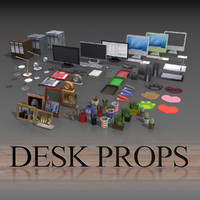 3ds max office props