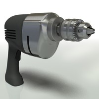 3d power drill model