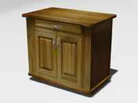 kitchen cabinet 3d lwo