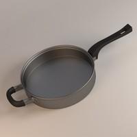 3dsmax cooking pan