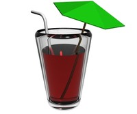 drink glass animation 3d 3ds