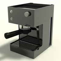 3dsmax saeco coffee machine