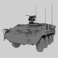 Stryker US Army APC game model