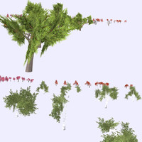 trees pack 3d 3ds