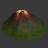 3ds volcano