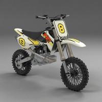3d model mini moto minimoto
