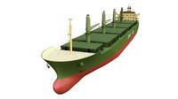 c4d cargo vessel