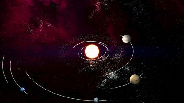 planetary animation earth ma - Planet system (animated)... by essentials