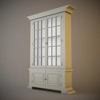 eichholtz guillaume cabinet 3d model