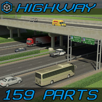 Highway Elements Pack