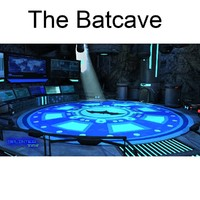 free bat cave 3d model