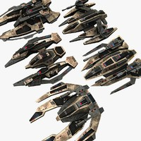 5_Military_Space_Fighters