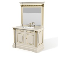 Clive Christian bathroom furniture set
