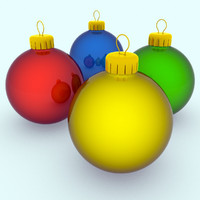 set baubles 3d max