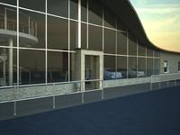 3ds build car shop
